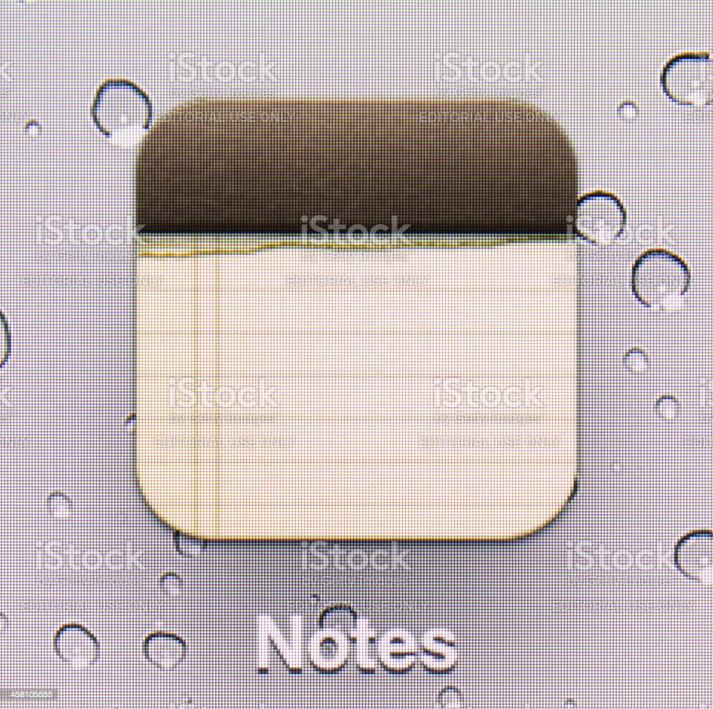 Notes. royalty-free stock photo