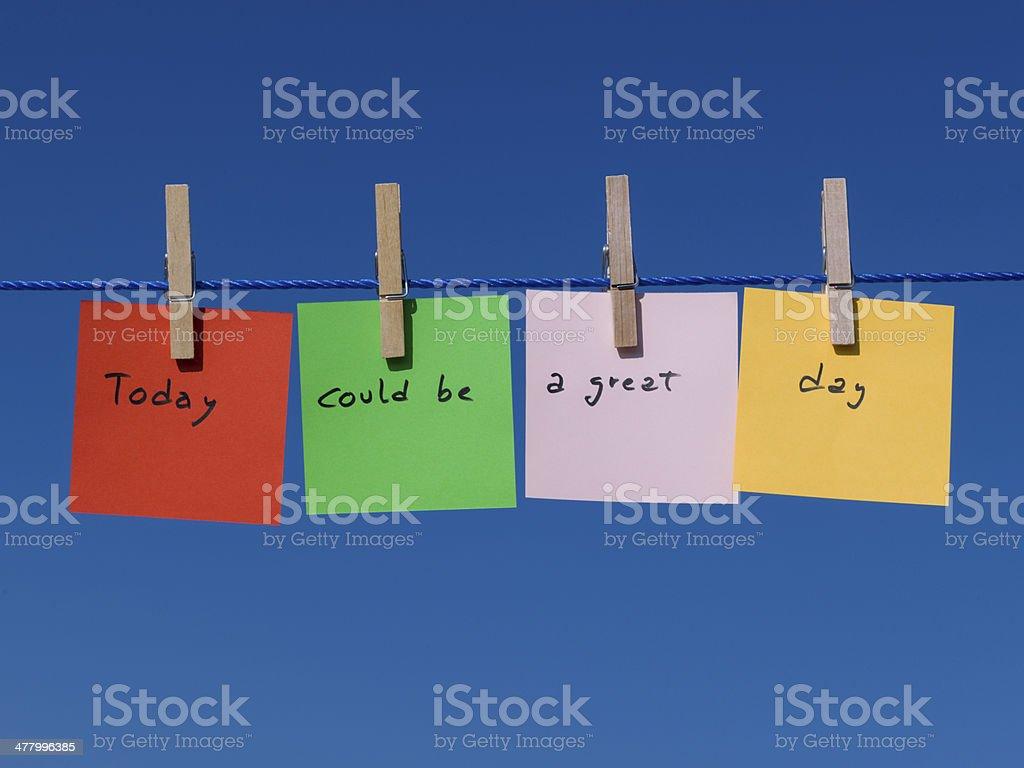 Notes stock photo