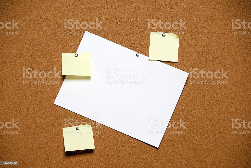 Notes stock photo