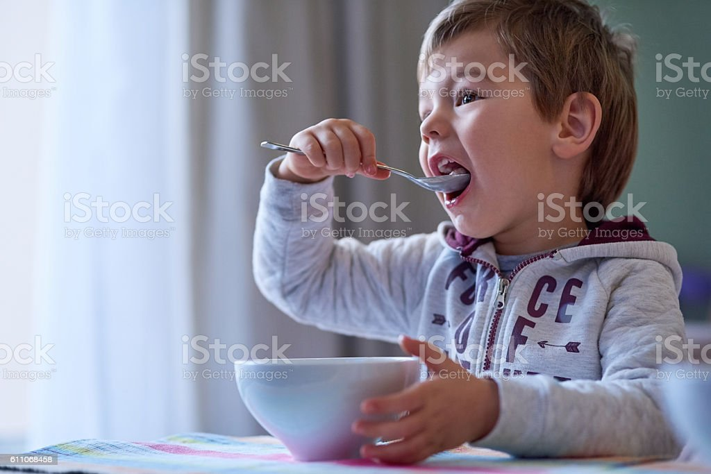 Nothing beats a delicious breakfast stock photo