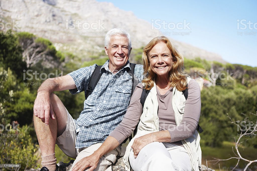 Nothing beats an outdoor holiday royalty-free stock photo