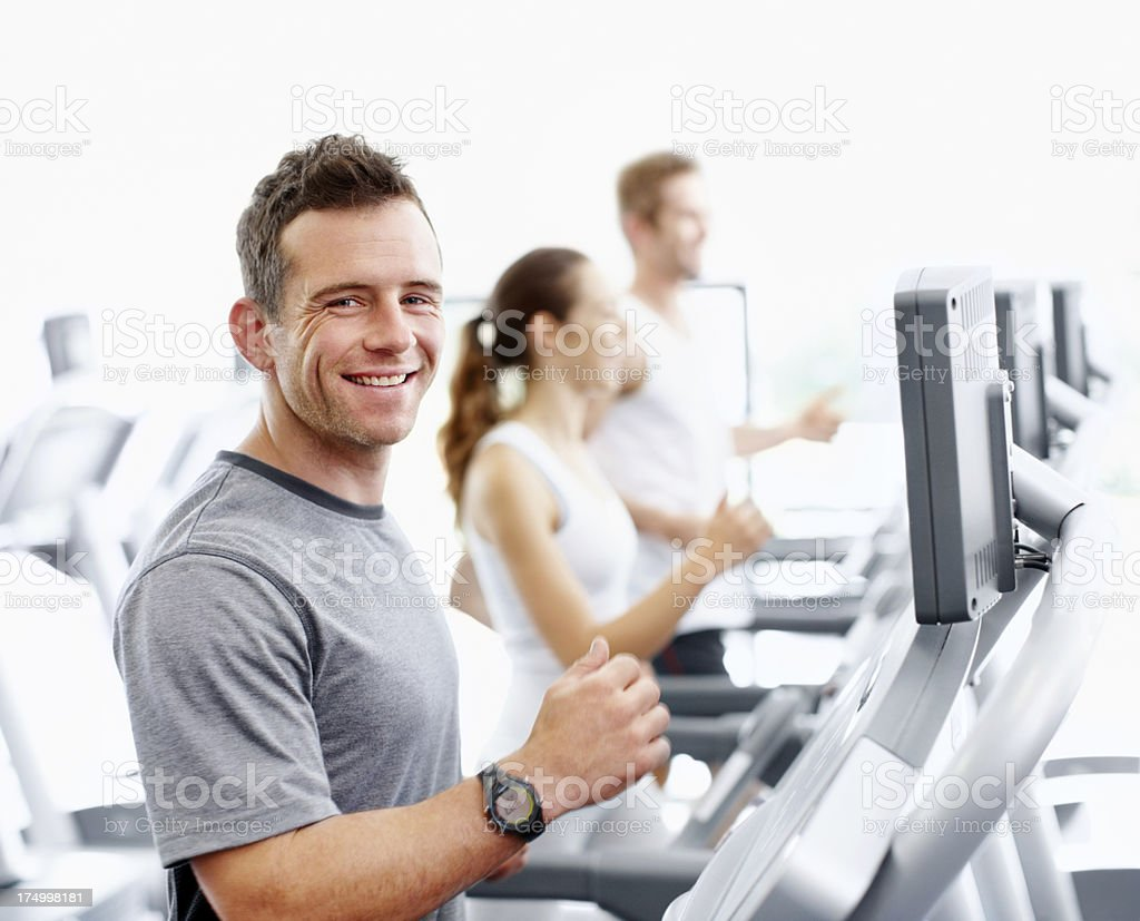 Nothing beats living a healthy lifestyle royalty-free stock photo