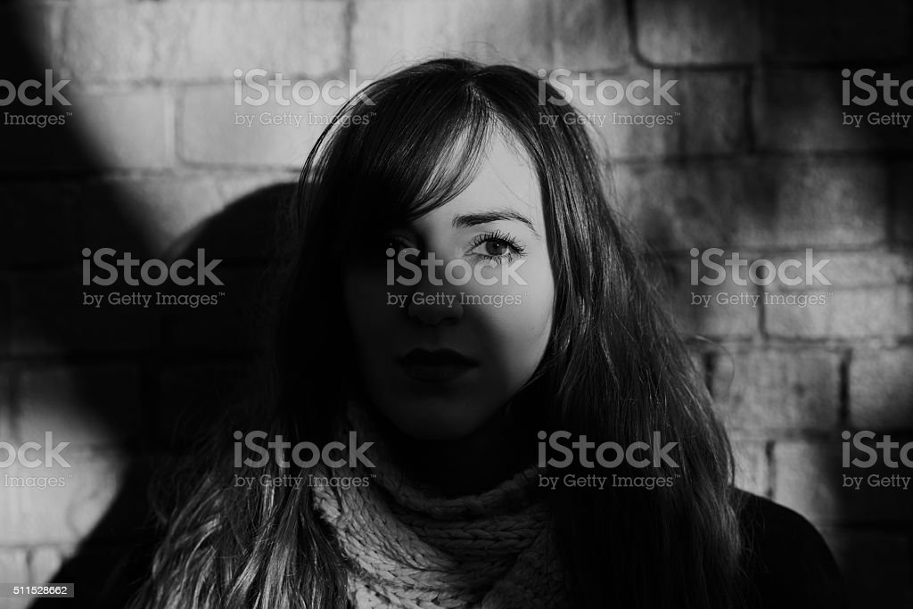 Nothing beautiful asks for attention stock photo