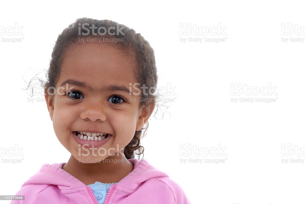 Nothing but smiles royalty-free stock photo