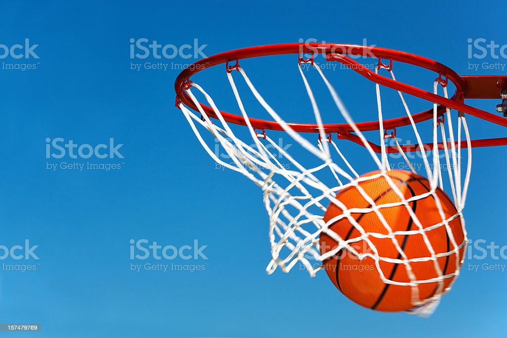Nothing but the net stock photo