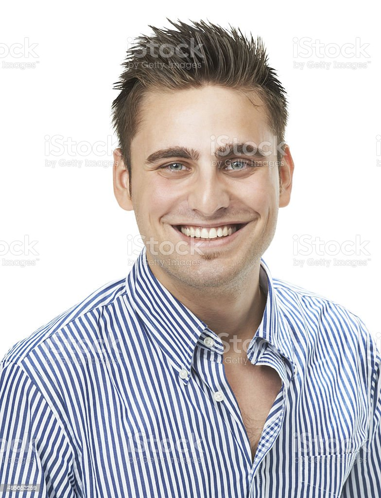 Nothing can ruin his day! royalty-free stock photo
