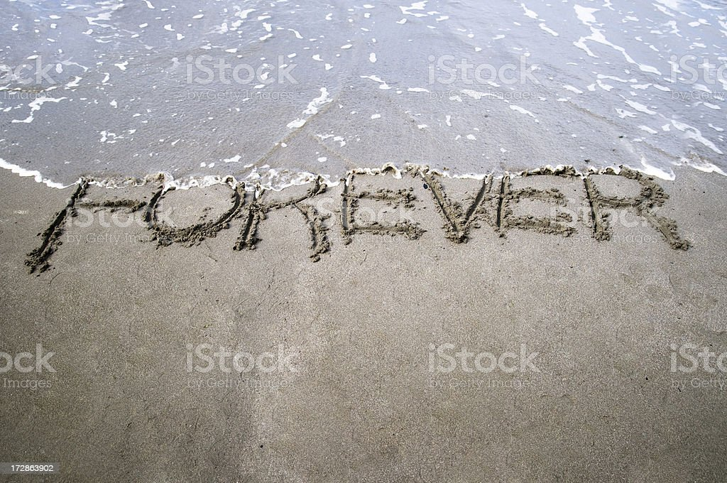 Nothing Lasts Forever stock photo