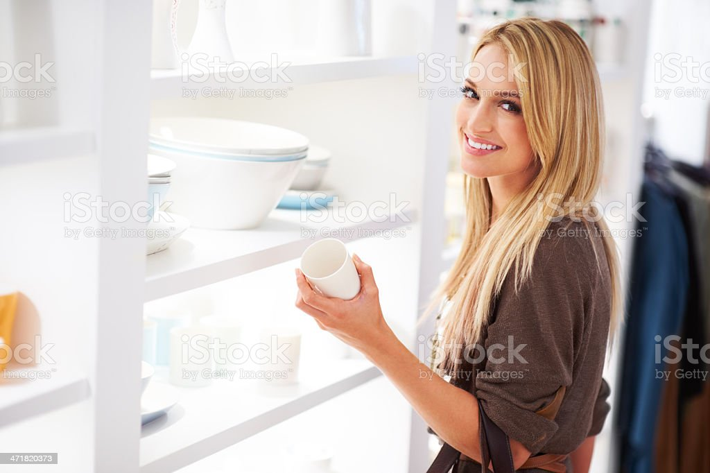 Nothing like a little retail therapy royalty-free stock photo