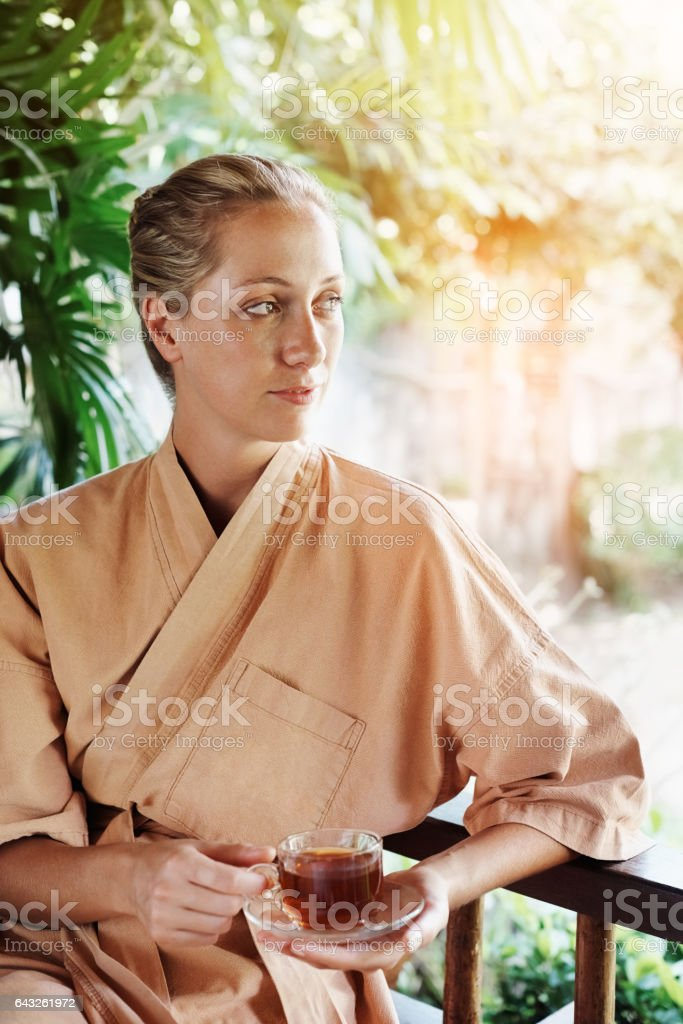 Nothing like nature to inspire wellness stock photo