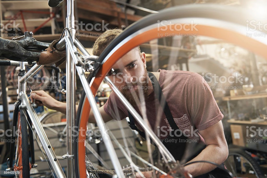 Nothing replaces hard work and diligent focus stock photo