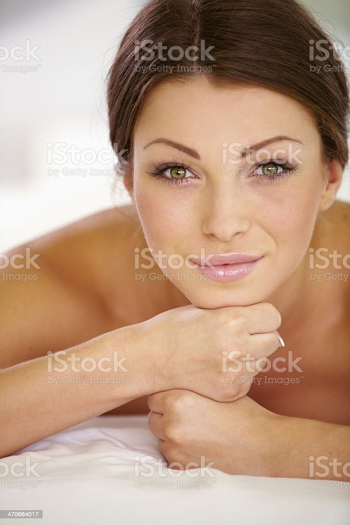 Nothing to do but relax royalty-free stock photo