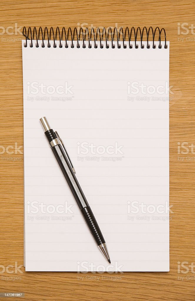 nothing to write royalty-free stock photo