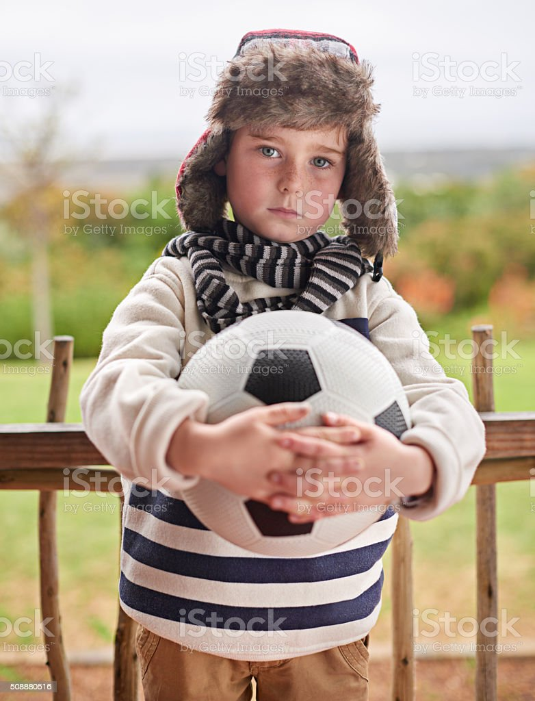 Nothing will keep me from playing stock photo