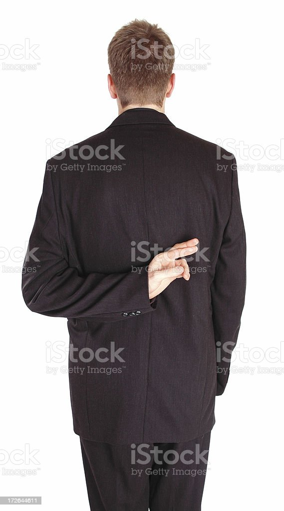 Not-Quite-Truthful stock photo