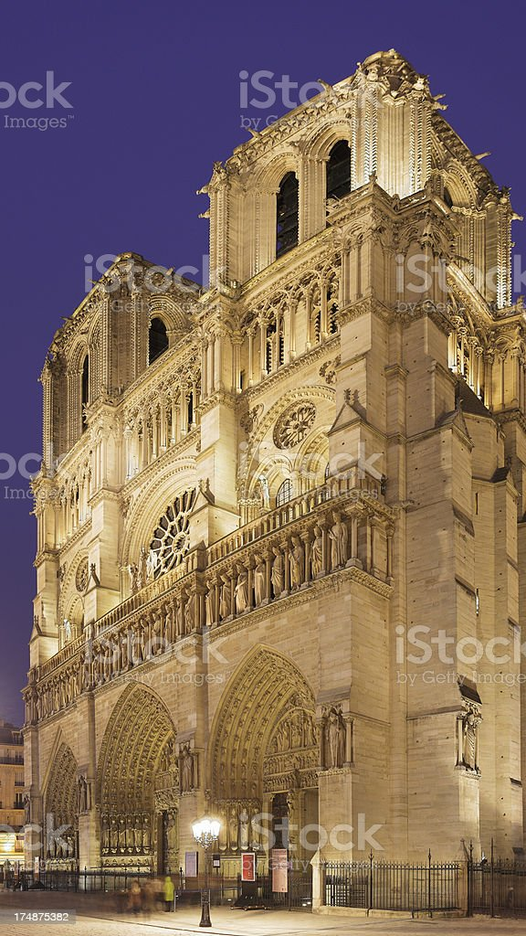 Notre Dame Cathedral - Paris royalty-free stock photo