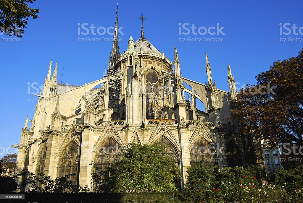 Notre Dame Cathedral royalty-free stock photo