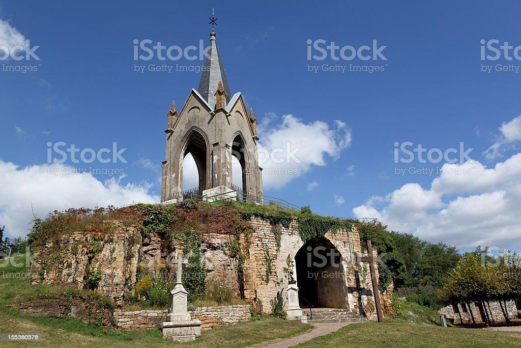 Notre Dame de la Motte in Vesoul, France stock photo
