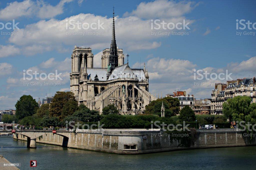 Notre Dame de Paris A stock photo