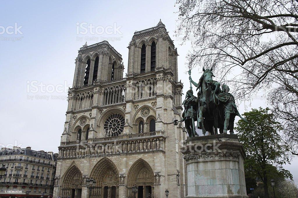 Notre Dame de Paris, France. royalty-free stock photo