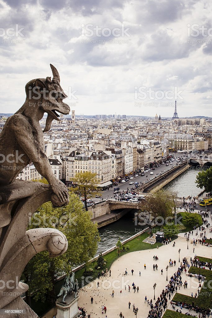 Notre Dame de Paris, France stock photo