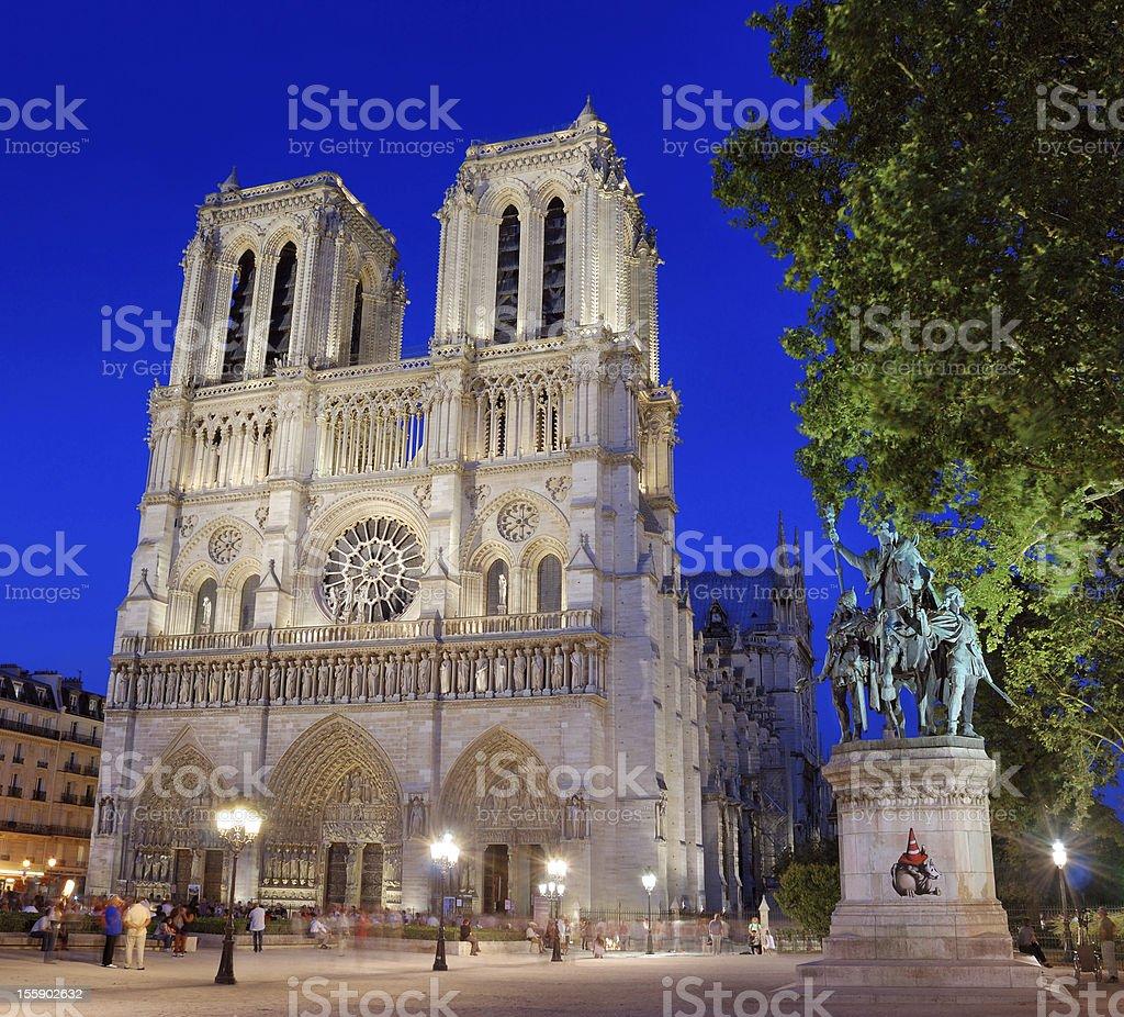 Notre Dame de Paris. royalty-free stock photo
