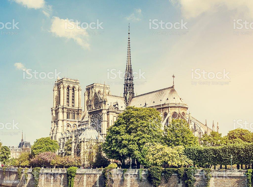 Notre Dame de Paris royalty-free stock photo