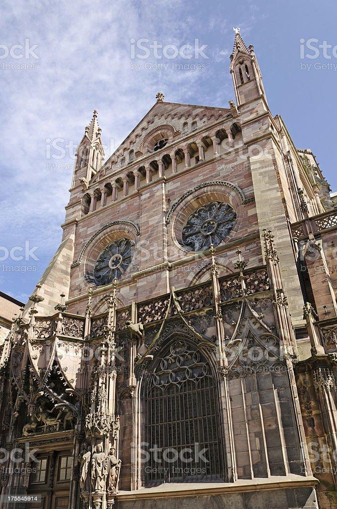 Notre Dame de Strasbourg royalty-free stock photo
