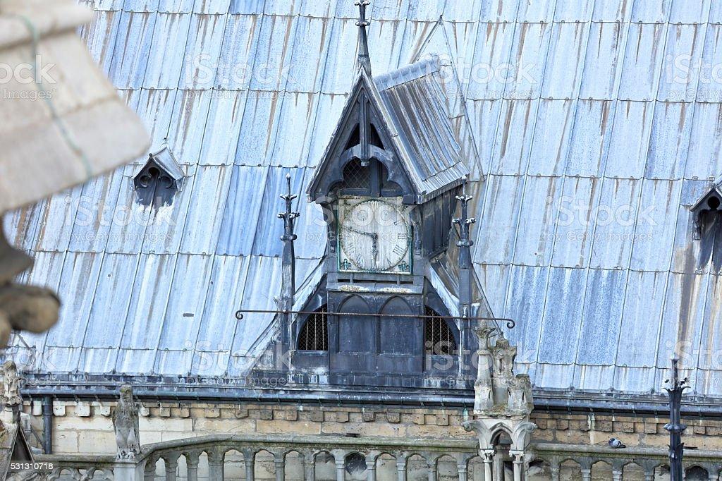 Notre Dame Detail stock photo