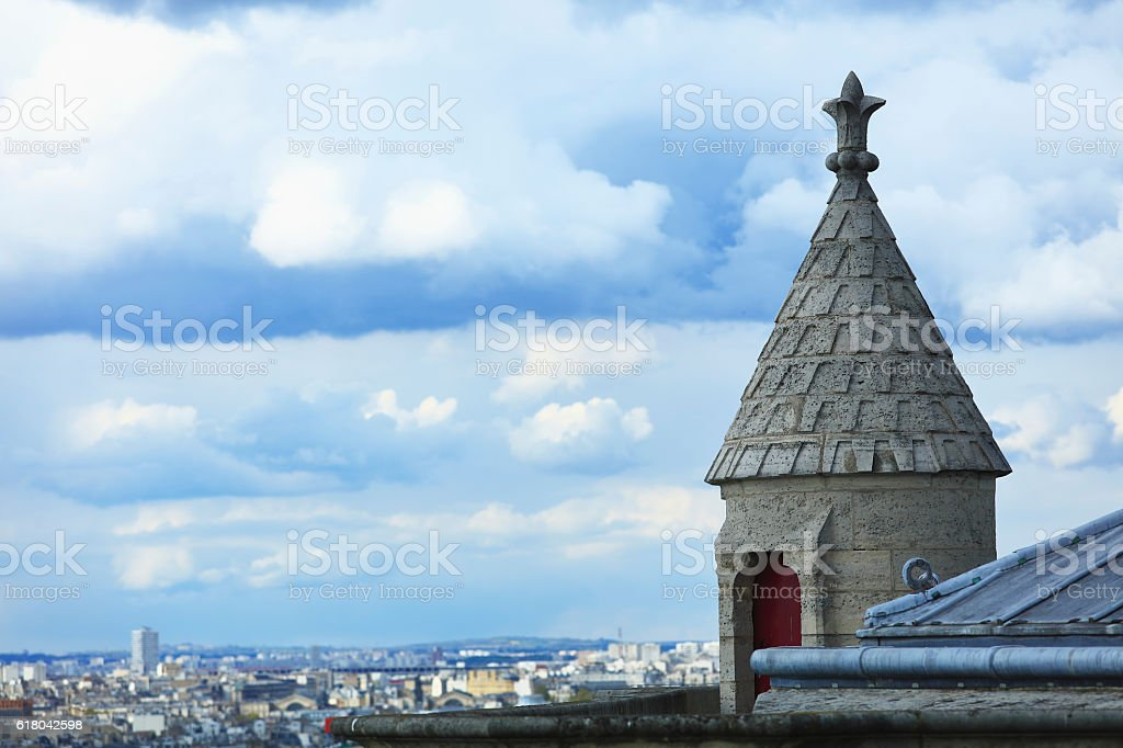 Notre Dame: Details stock photo