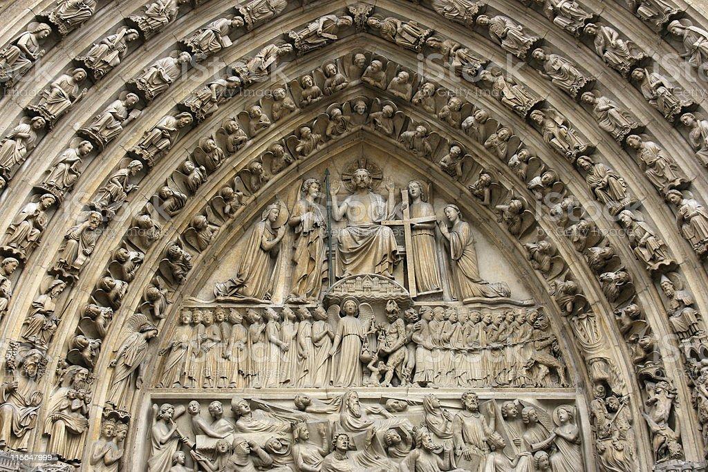 Notre Dame of Paris royalty-free stock photo