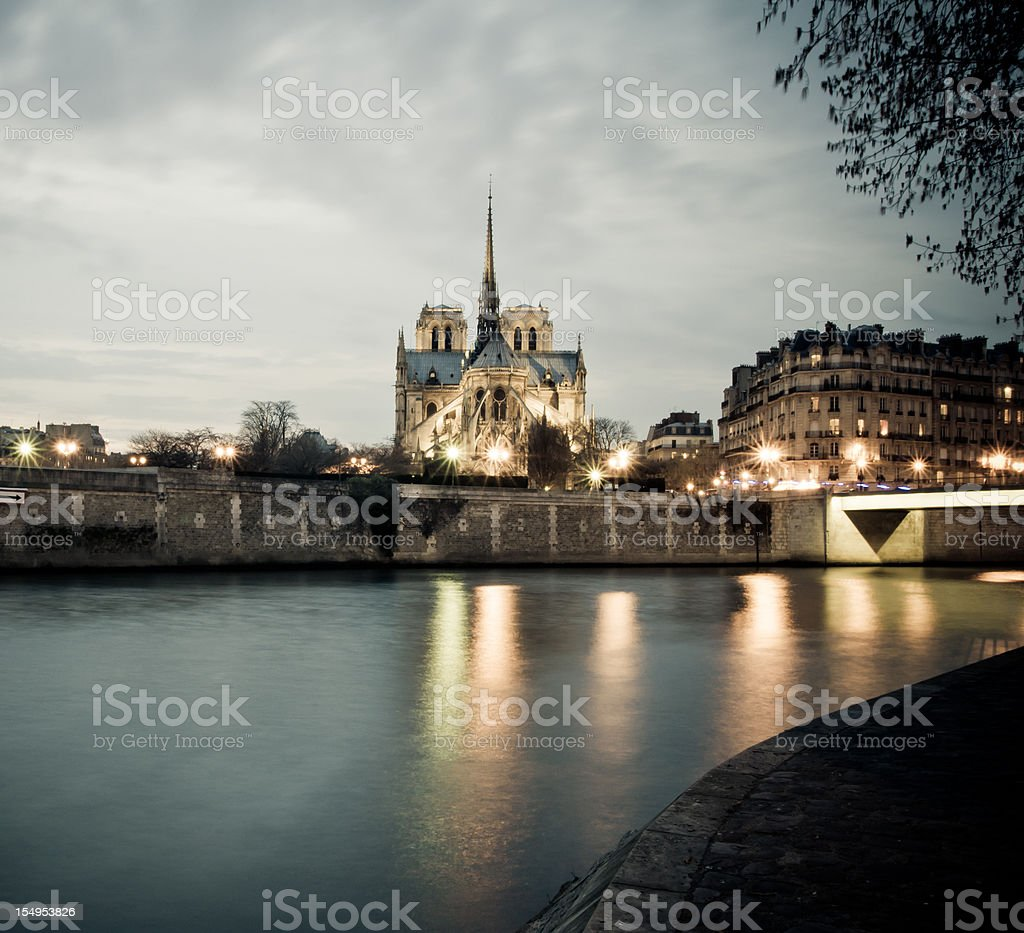 Notre Dame, Paris royalty-free stock photo