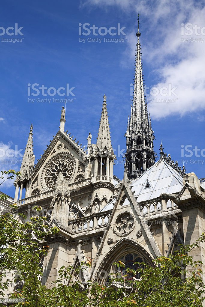 Notre Dame, Paris. royalty-free stock photo