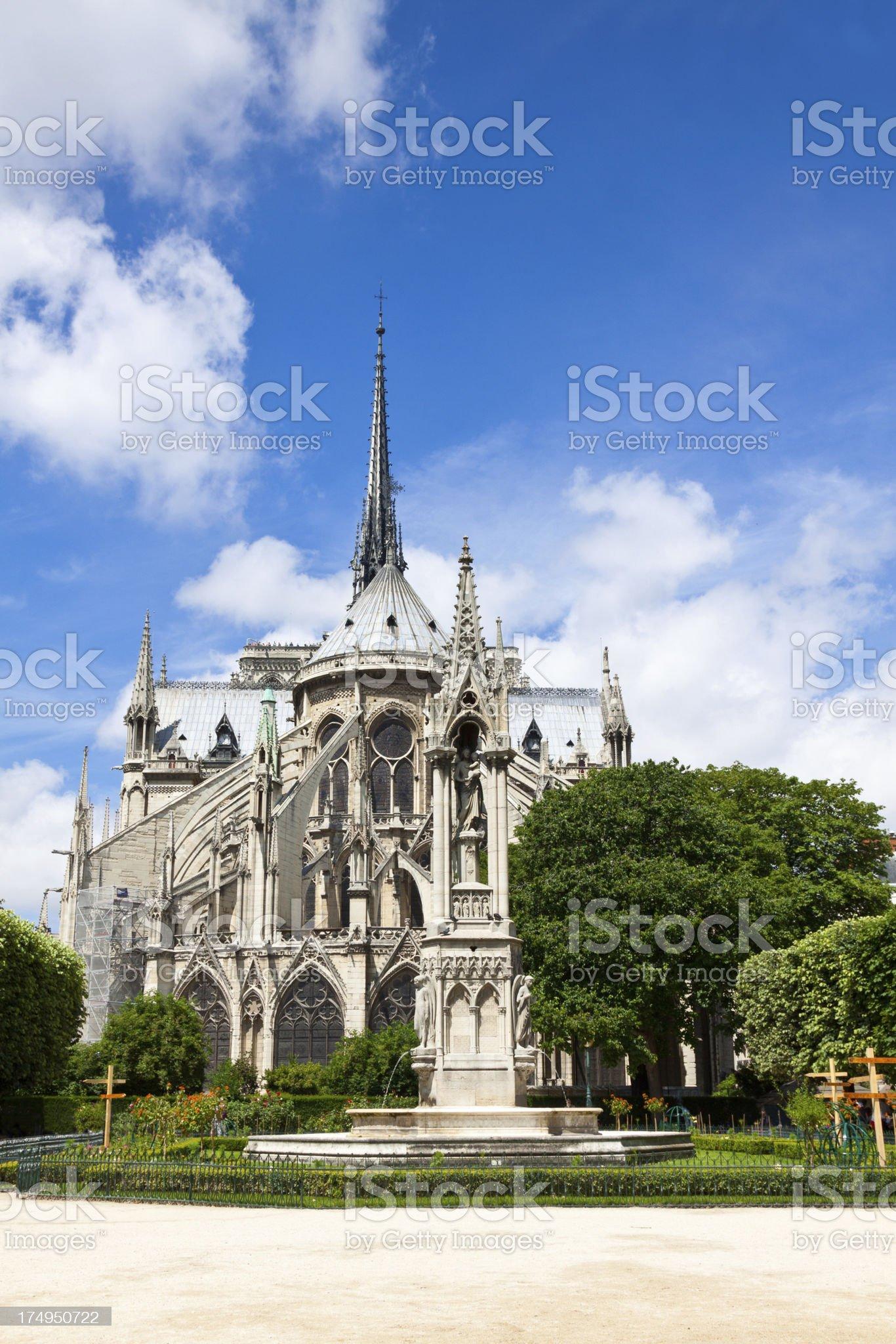 Notre Dame, Paris. royalty-free stock photo
