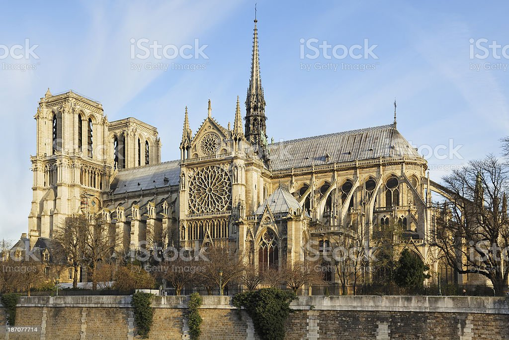 Notre Dame - Paris royalty-free stock photo