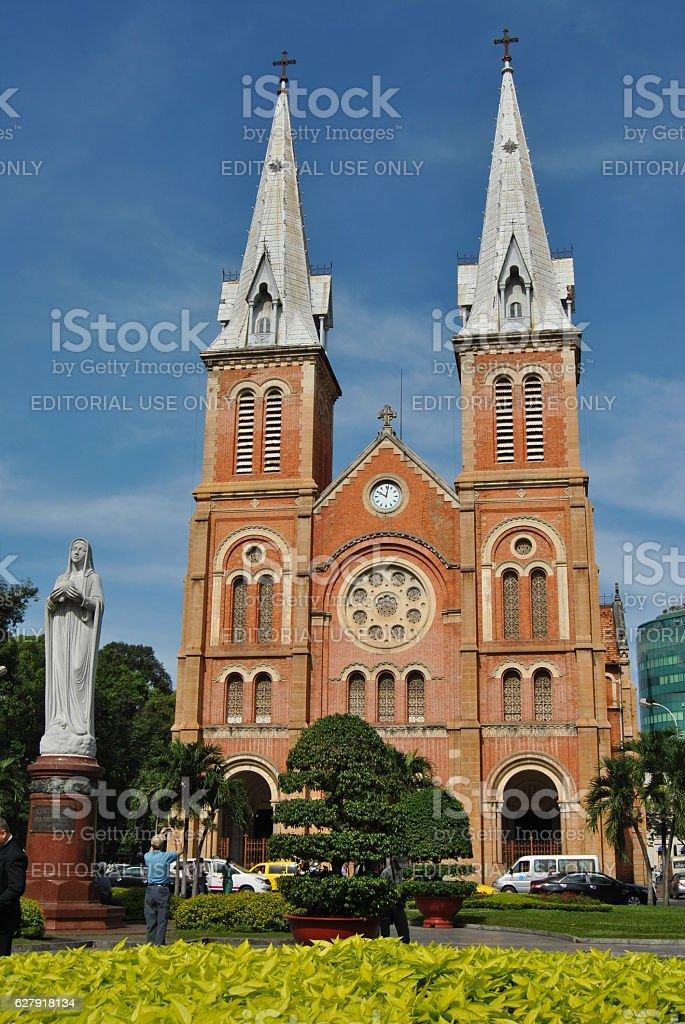 Cattedrale di Notre Dame di Ottawa di Saigon foto stock royalty-free