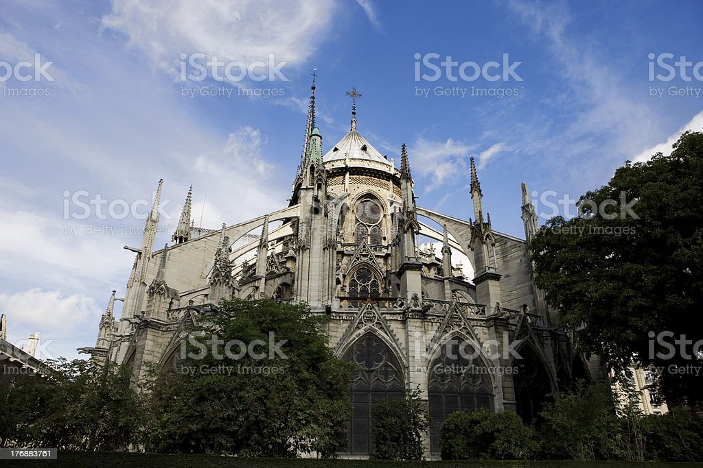 Cath?drale Notre-Dame, Paris royalty-free stock photo