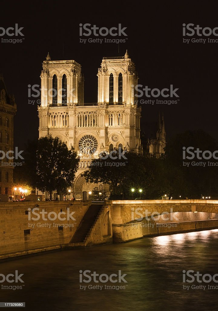 Notre-Dame cathedral royalty-free stock photo