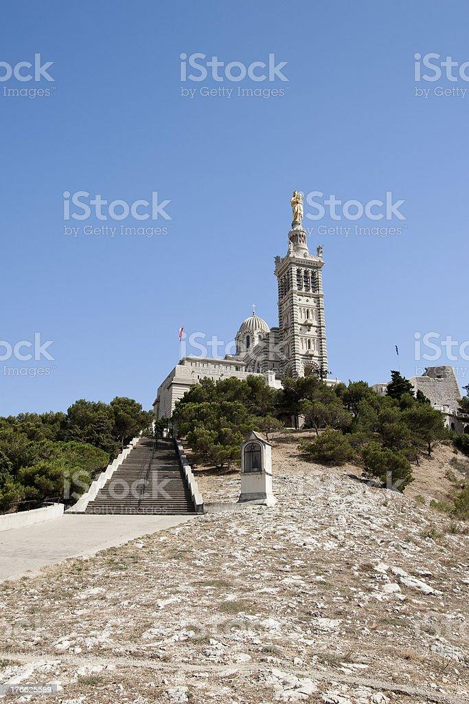 Notre-Dame de la Garde stock photo