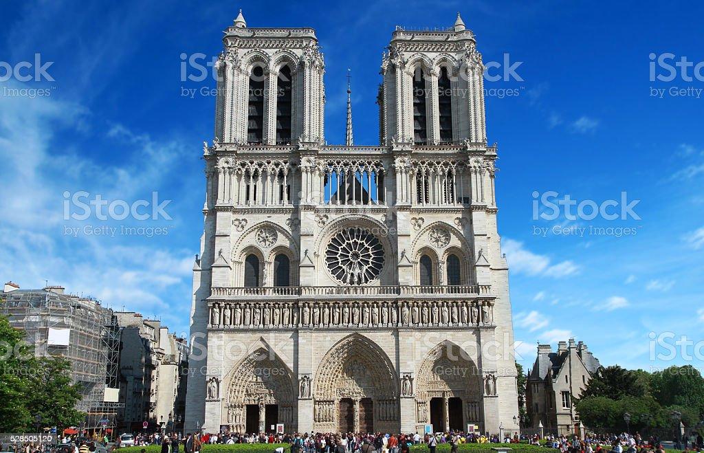 Notredame, Paris stock photo