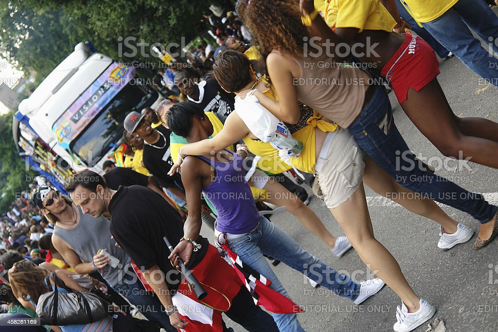 Notting Hill Carnival 2008. stock photo