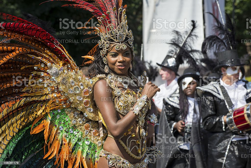 Notting Hill Carnival 2013 stock photo