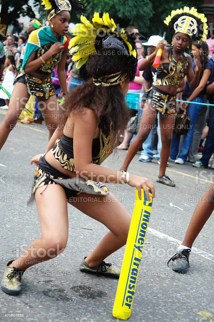 Notting Hill Carnival - London stock photo