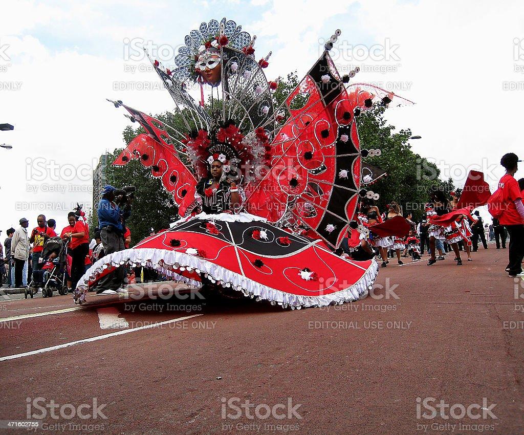 Notting Hill Carnival stock photo