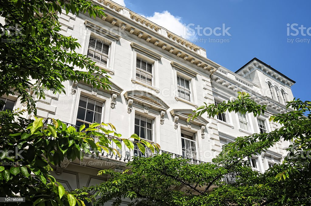 Notting Hill, London. stock photo
