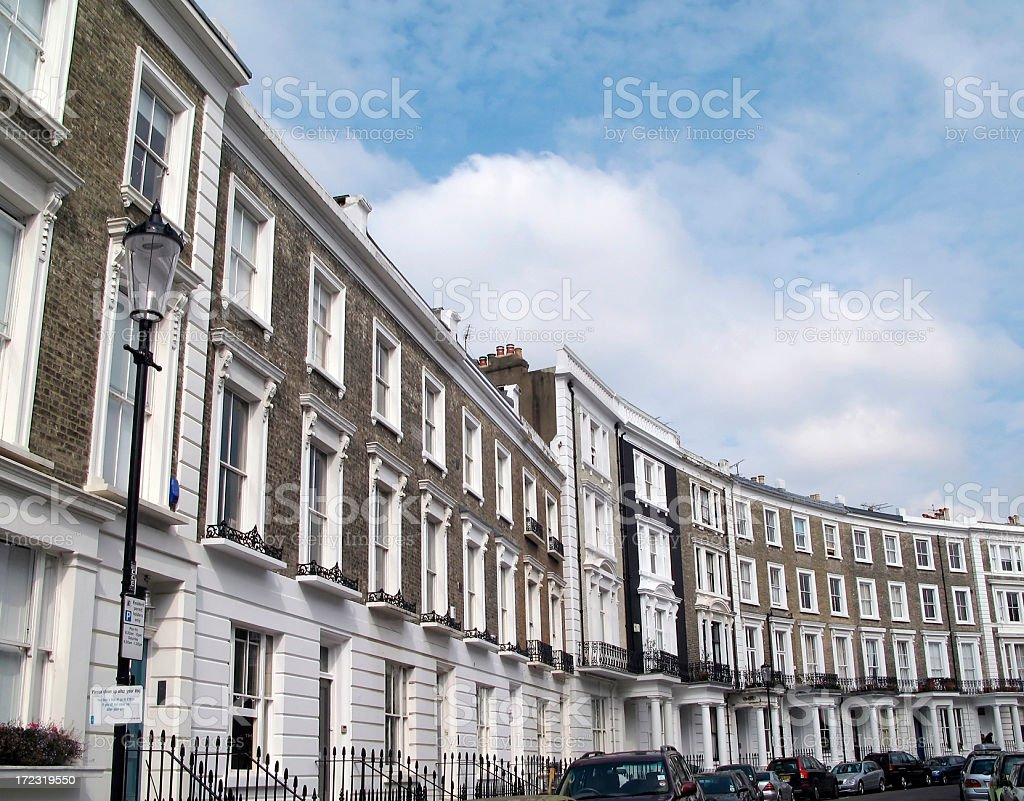 Notting Hill stock photo
