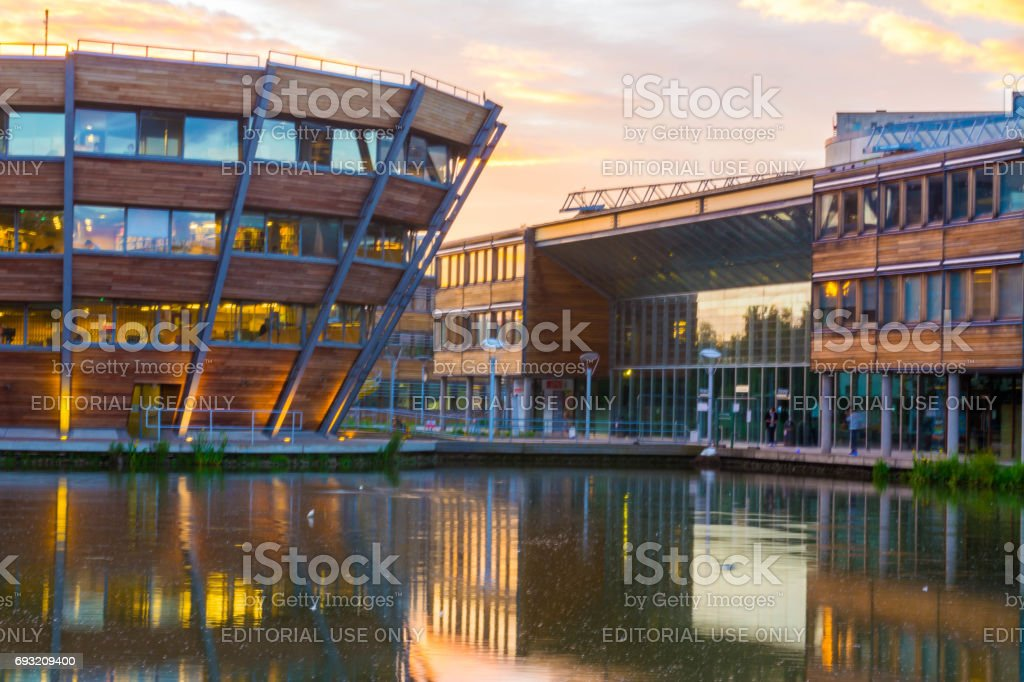 Nottingham - England - University of Nottingham stock photo