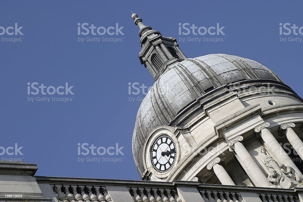 Nottingham Town Hall royalty-free stock photo