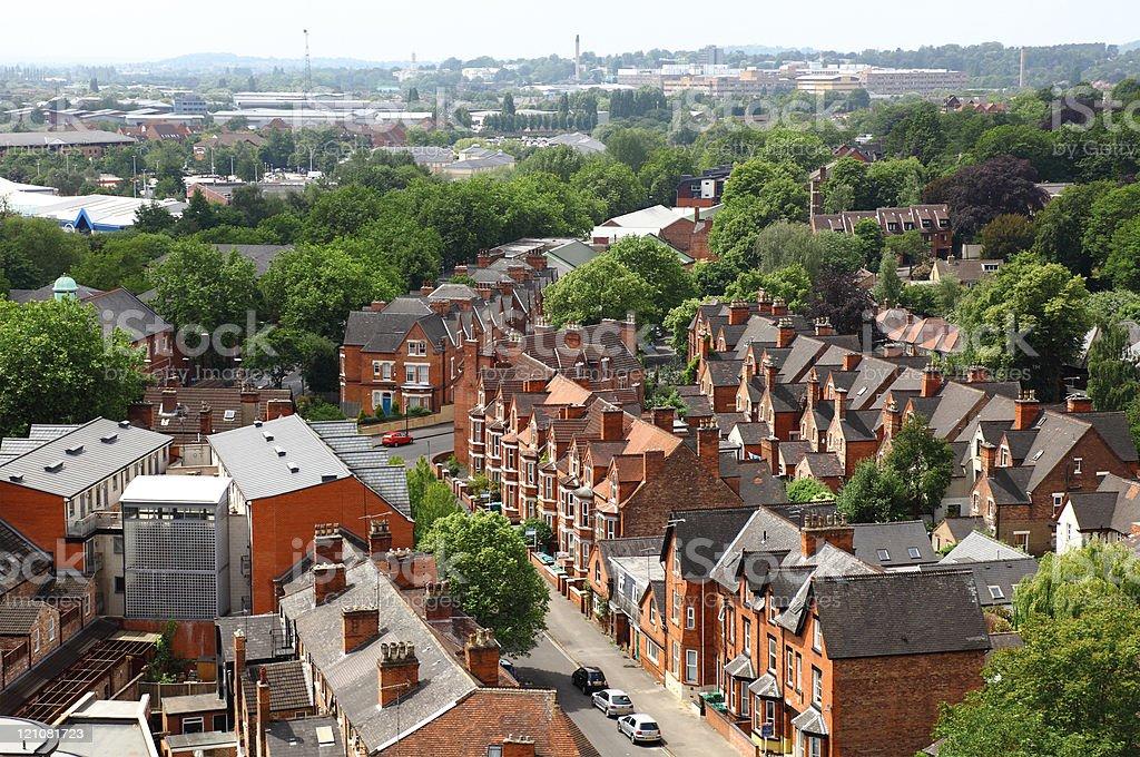 Nottingham,uk. stock photo