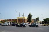 Nouakchott, Mauritania: downtown - central post office
