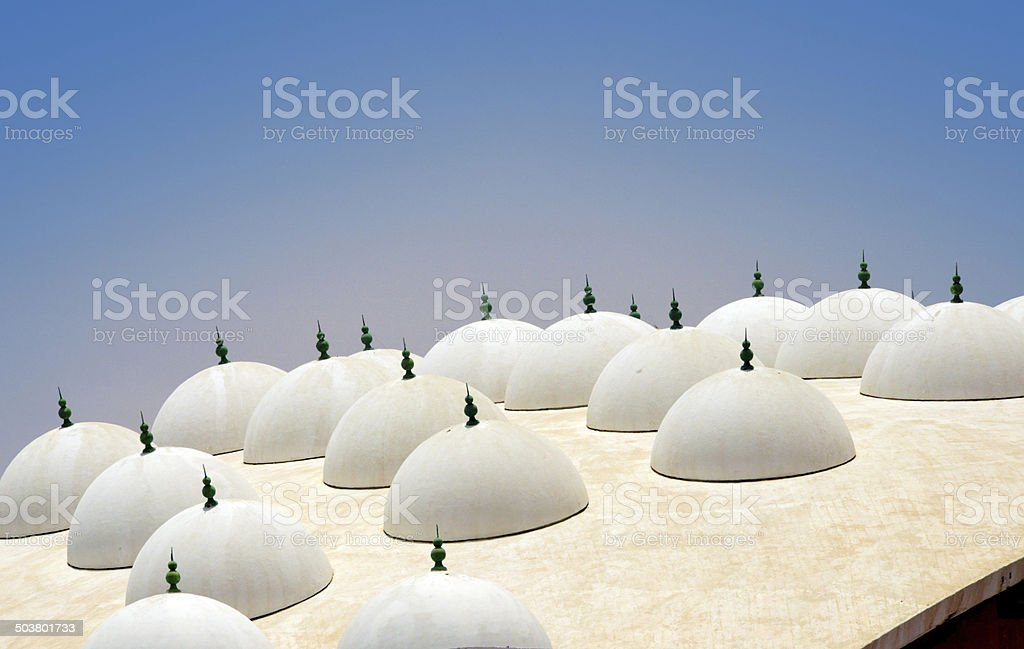 Nouakchott, Mauritania: Islamic architecture, Palais de Justice stock photo